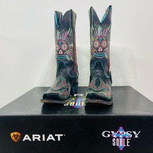 Ariat Gypsy Soule 'Don't walk in fear cowboy boots